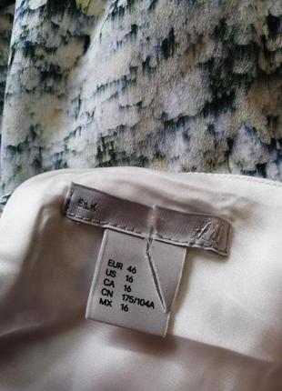 Длинное, шелковое платье. premium quality. h&m.8 фото