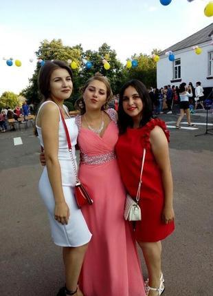 Нарядное платье в пол выпускное платье