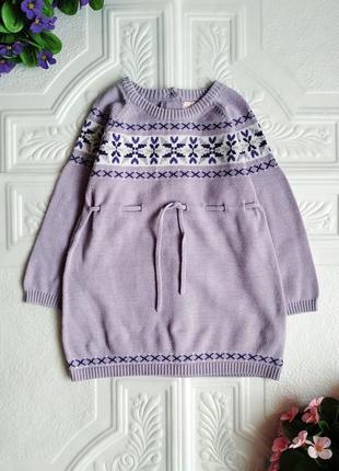 Вязанное платье туника mc.baby