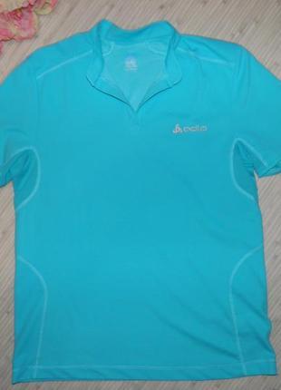 Обнова! спортивная футболка батник для фитнеса odlo