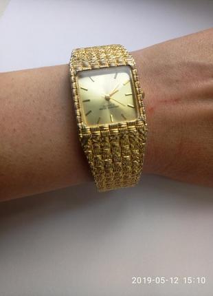 Часы позолота 18к