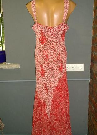 Длинное платье из шифона большого размера marks & spencer2 фото