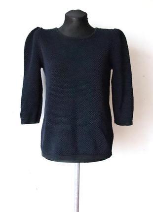 Фактурный свитер cos 100% хлопок