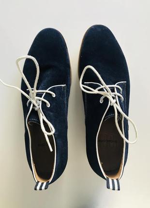 Туфли велюровые mascotte размер 41