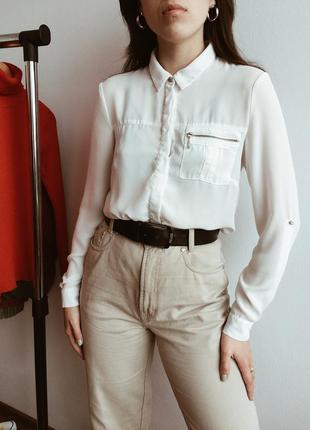 d855469f682 Женские рубашки с карманами 2019 - купить недорого вещи в интернет ...