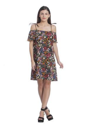 Платье-сарафан в цветочний принт