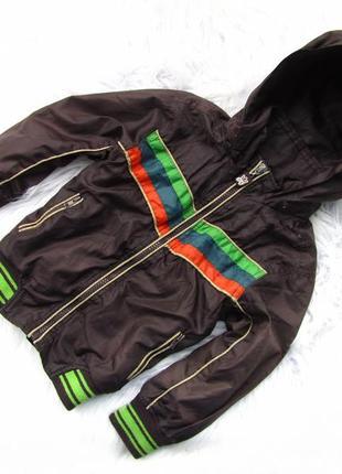 Стильная ветровка куртка  с капюшоном st.george