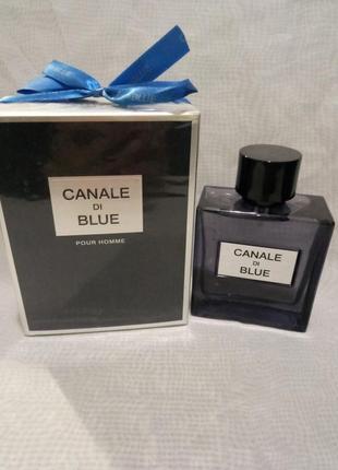 Мужские духи fragrance world canale di blue 100
