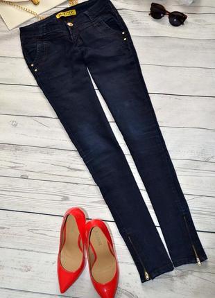 Женские зауженные джинсы скинни от uno