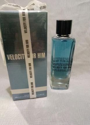 Fragrance world velocity for him мужская туалетная вода