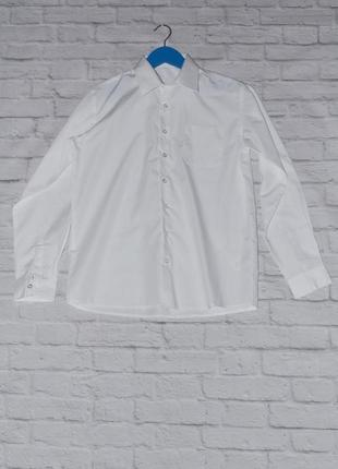 Белая рубашка на мальчика 13-14 лет george