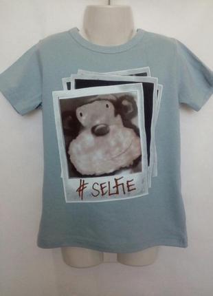 Клевая фирменная футболка для мальчика next