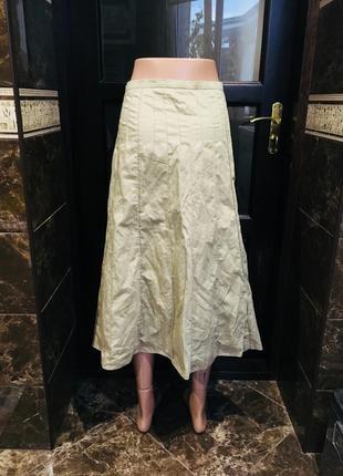Светлая красивая юбка как новая2 фото