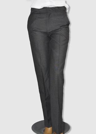 Серые  брюки со стрелками на девочку 14 лет от tu