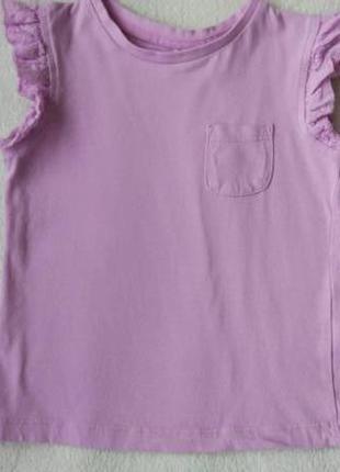 Новая милая футболка george на 3-4 года рост 98-104 см