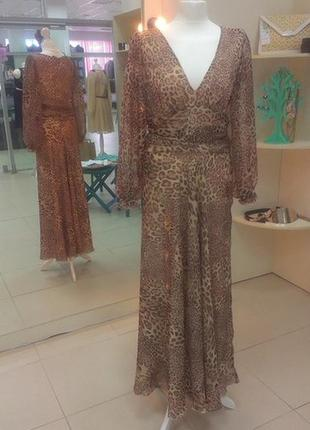 Леопардовое платье-макси leggi2 фото