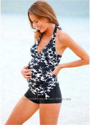 Купальник-танкини для беременных,подойдет на размер м