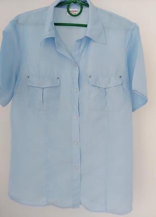 Рубашка из натурального шелка biaggini.