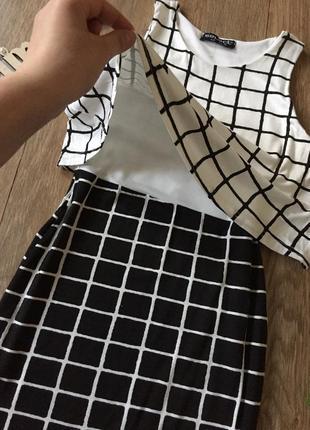 Распродажа, вещи до 200 грн , платье в клетку / плаття в клітинку / сукня2 фото