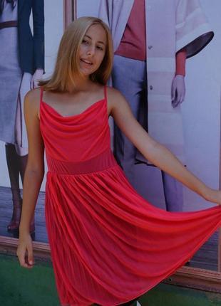 Платье -сетка