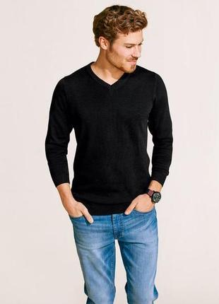 Мужской пуловер xl 56-58 тонкий свитер livergy германия