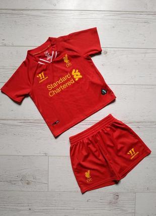 Футбольная форма на мальчика ливерпуль 18-24 месяца