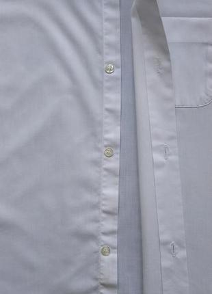 Белая нарядная рубашка сорочка мальчику на 7-8 лет, 134 см2 фото
