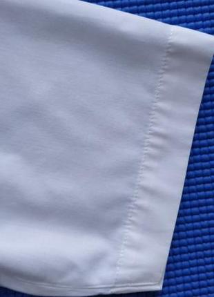 Белая нарядная рубашка сорочка мальчику на 7-8 лет, 134 см4 фото