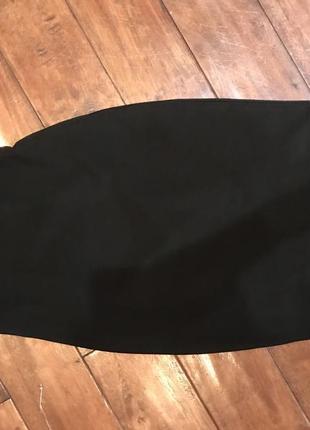 Юбка карандаш на высокой талии2 фото