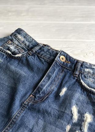 Zara юбка mini4 фото