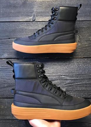 Puma x xo parallel, оригинал, новые, ботинки, кожаные