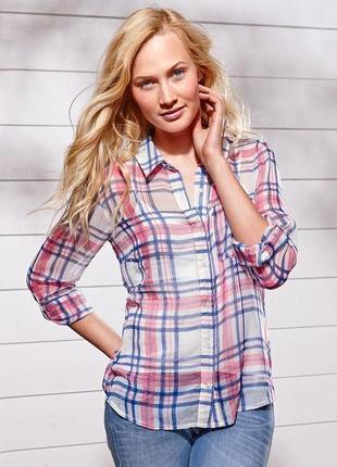 Легкая женская рубашка блуза tchibo  германия.