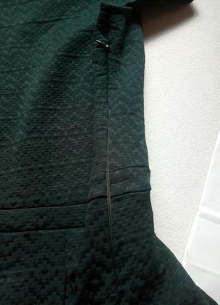 Новое темно-зеленое платье promod5 фото