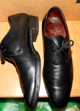 Туфли, классика, оксфорды, bally, покупали в швейцарии, оригинал,  р. указан 8,5