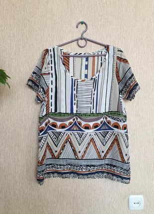Яркая, лёгкая, качественная футболка, блуза, блузка reacocks