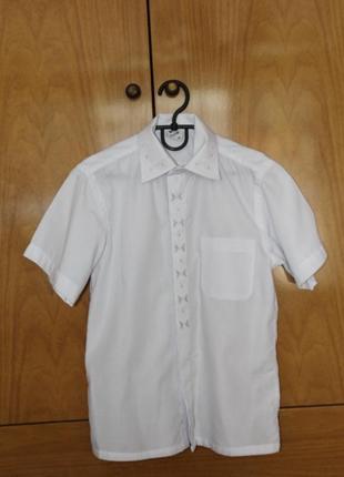 Нарядная рубашка рост 128-134