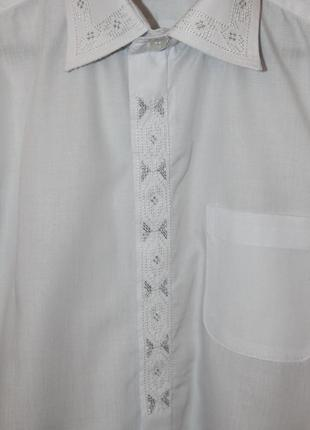Нарядная рубашка рост 128-1342 фото