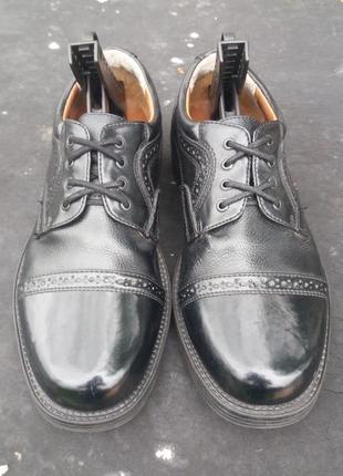 Кожаные туфли,туфлі,броги,оксфорды от giorgio di gioco италия! (40)