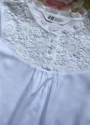 Блуза h&m 116см4 фото