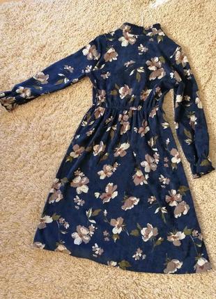 Платье из микровельвета3 фото