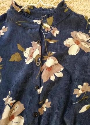 Платье из микровельвета2 фото