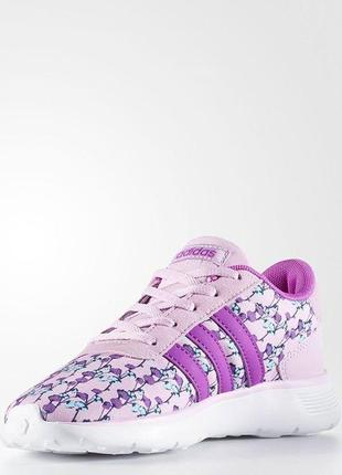 Детские кроссовки adidas lite racer kids артикул aw4059