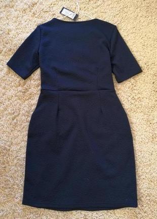 15 % скидка. платье офисное трикотажное, базовое.3 фото