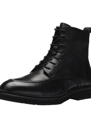Ботинки кожа zanzara 46р 31см . оригинал usa. diesel. armani