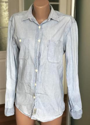 Рубашка джинсовая jack wills