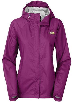 Женская ветровка с капюшоном, дождевик, парка, жакет, куртка фиолетовая