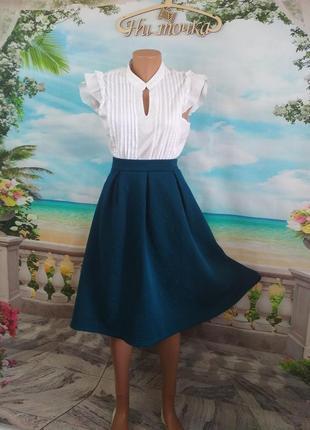 f515286a79a Расклешенные юбки миди 2019 - купить недорого вещи в интернет ...
