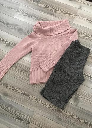 Шорты etam и свитер в комплекте