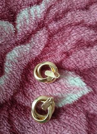 Идеальные серьги под золото6 фото