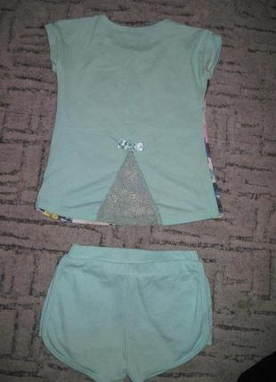 Костюм футболка и шорты фламинго венгрия